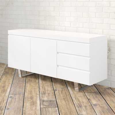 """Sienna 63"""" Wide 3 Drawer Sideboard - Wayfair"""