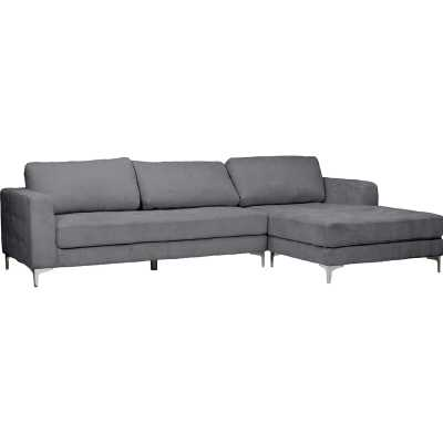 Baxton Studio Right Hand Facing Sectional See More from Orren Ellis Shop - Wayfair