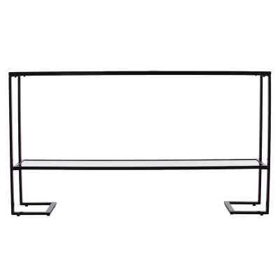Jai Glam Narrow Console Table - Black - Wayfair