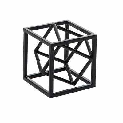 Stephani Dual Cube Decorative Sculpture - Wayfair