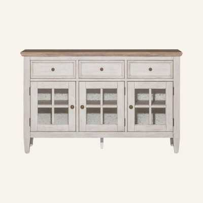 "Marion 60"" Wide 3 Drawer Sideboard - Wayfair"