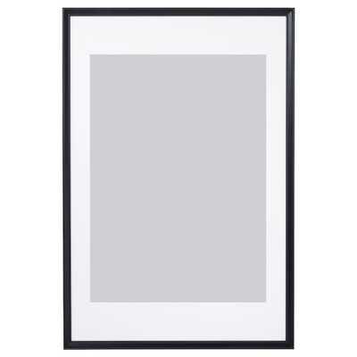 "KNOPPÄNG Frame, black, 24x35 ¾ "" - Ikea"