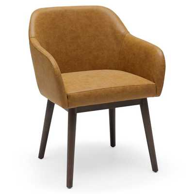 MoDRN Mid-Century Layne Office Chair (Faux Leather) - Hayneedle