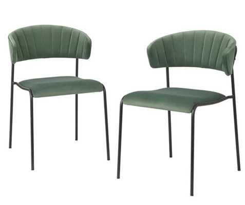 Caistor Upholstered Dining Chair (set of 2) - Wayfair