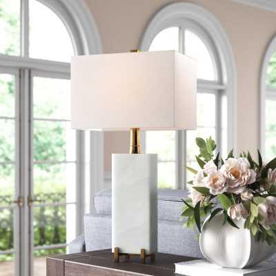 "30"" White Table Lamp - Wayfair"