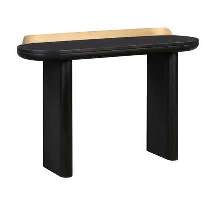 Samantha Black Desk/Console Table - Maren Home