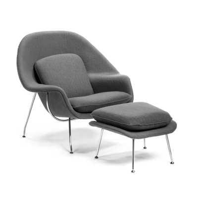 Alexandrina Lounge Chair & Ottoman - Wayfair