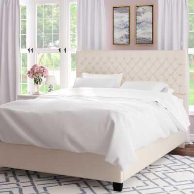 Hyannis Queen Upholstered Platform Bed - Wayfair