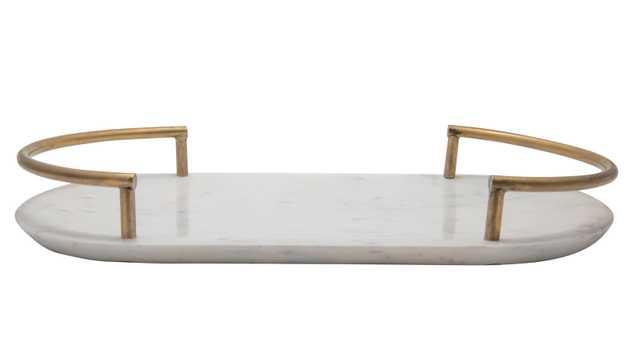 Ebeling Marble Coffee Table Tray - Wayfair