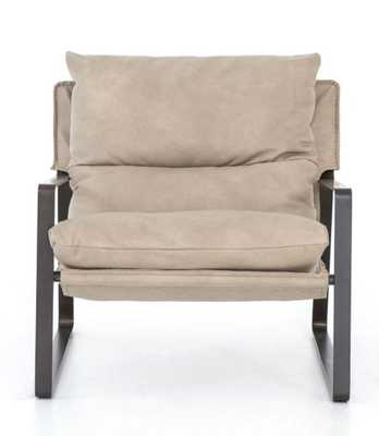 Emmett Sling Chair in Umber Natural by BD Studio - Burke Decor