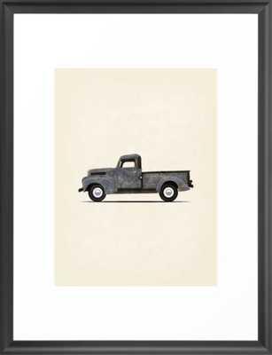 Old Truck Framed Art Print - Society6