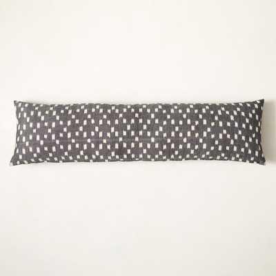 Diamond Ikat Oversized Lumbar Pillow Cover - West Elm