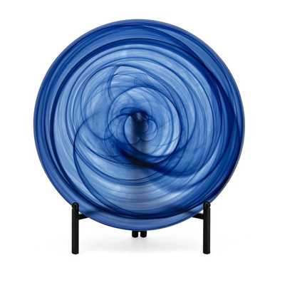 Nicolla Glass Charger with Stand - Mercer Collection