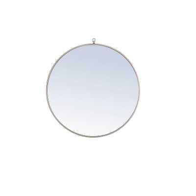 Yedinak Modern Distressed Accent Mirror - Wayfair