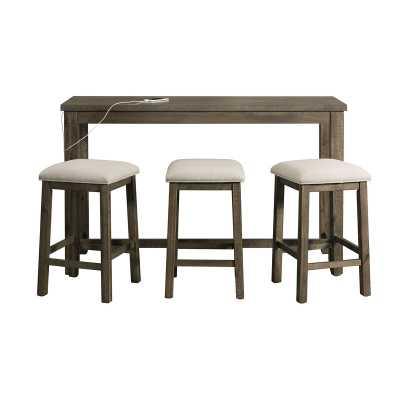 Kentworth Multipurpose 4 Piece Pub Table Set - Wayfair