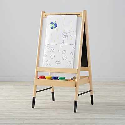 Double Sided Wooden Art Easel - Crate and Barrel
