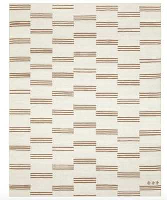 STRIPE BREAK RUG BY SARAH SHERMAN SAMUEL - 5x8 - Lulu and Georgia