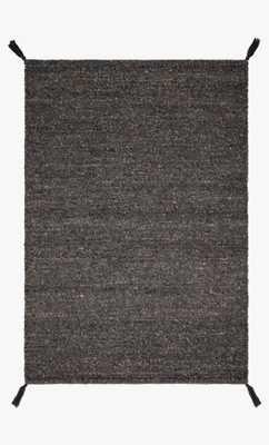 "OAK-01 ED Charcoal 9'3"" x 13' - Loma Threads"