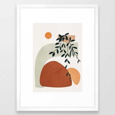 Soft Shapes I Framed Art Print - Society6