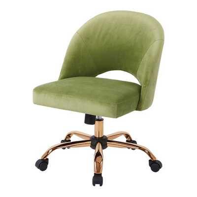 Reilly Mid-Back Desk Chair- Garden Green - Wayfair