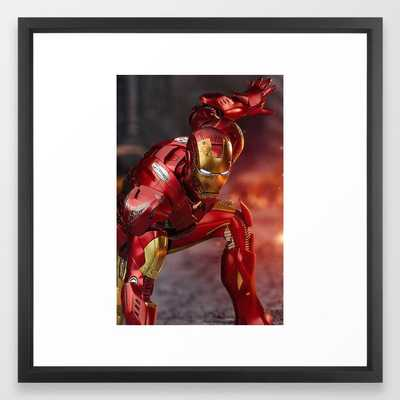 Avenged! Iron Man Framed Art Print - Society6