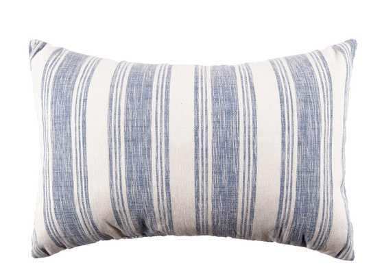 Beach House Cotton Lumbar Pillow - Wayfair