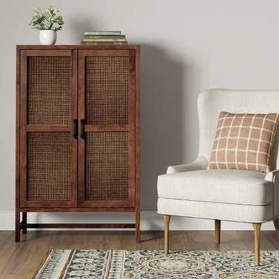 Warwick Wood & Rattan Library Cabinet - Threshold™ - Target