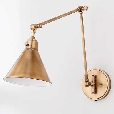 CYRUS ARCHED SWING ARM LIGHT - Shades of Light