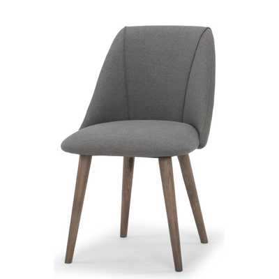 Brie Upholstered Dining Chair (Set of 2) - Wayfair