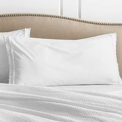 Washed Organic King Sham - Crate and Barrel