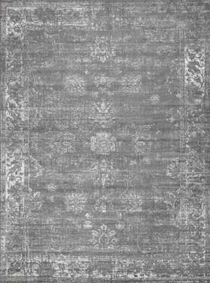 Sofia Casino Dark Gray 9' 0 x 12' 0 Area Rug - Home Depot