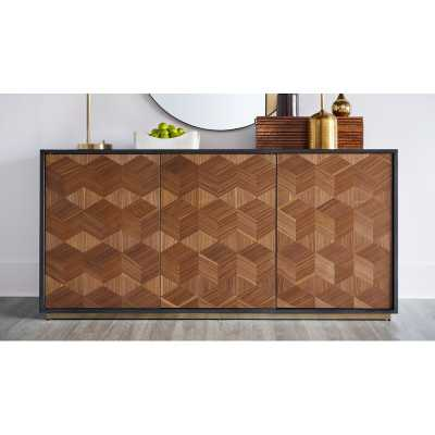 "67.24"" Wide 2 Drawer Credenza - Wayfair"