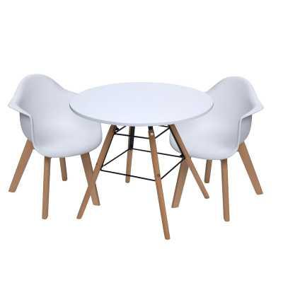 Leporis Kids 3 Piece Writing Table and Chair Set - Wayfair