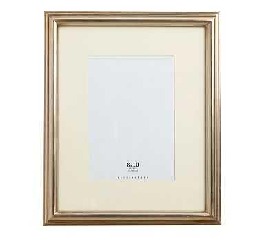 "Eliza Gilt Picture Frame, 8 x 10"" Narrow Frame, Champagne Gilt finish - Pottery Barn"