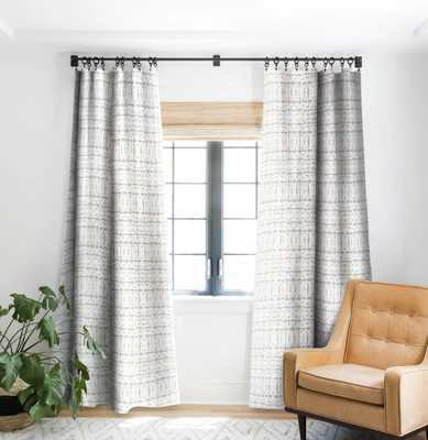 MANIFEST GREY PUTTY Blackout Curtain - Wander Print Co.