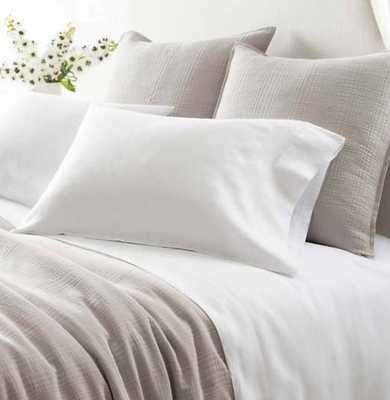 Lush Linen White Sheet Set - Pine Cone Hill
