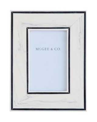 """BORDER LINES FRAME - 4"""" x 6"""" - McGee & Co."""