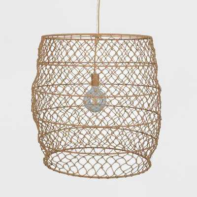 Rope Net Large Pendant Lamp Natural (Includes Energy Efficient Light Bulb) - Project 62 + Leanne Ford - Target