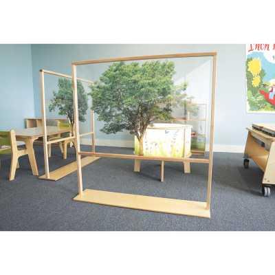Nature View 1 Panel Classroom Divider - Wayfair