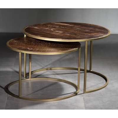 Daxton 2 Piece Coffee Table Set - Wayfair