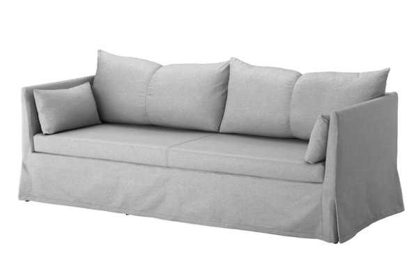 SANDBACKEN Sofa, Frillestad light gray - Ikea