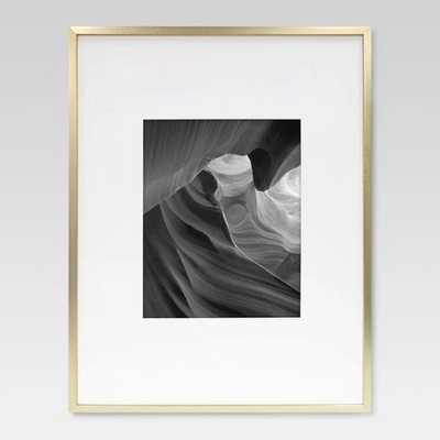 Metal Frame - Brass - Matted Photo - Project 62™, 16x20 - Target