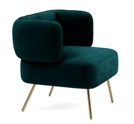 PARKER Slipper chair - Interior Define