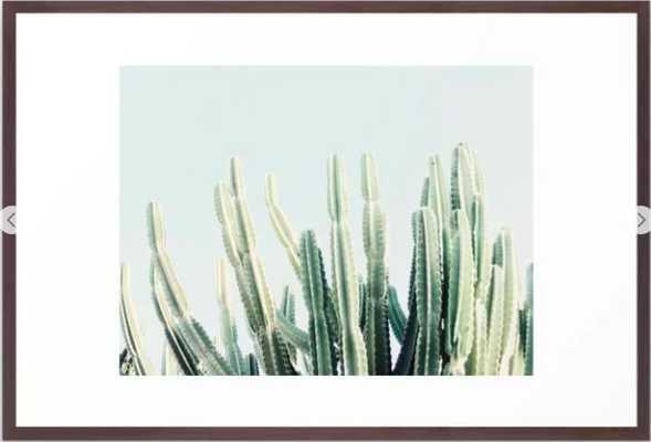 desert Framed Art Print, 26x38 - Society6