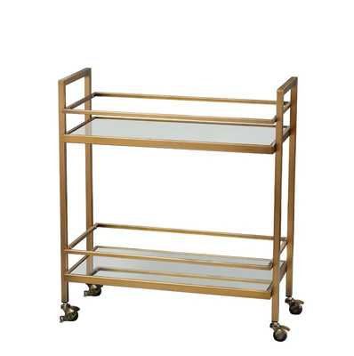 Crete Bar Cart - Wayfair