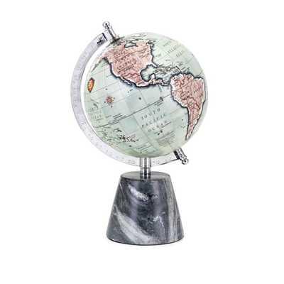 Beth Kushnick Globe with Marble Base - Mercer Collection