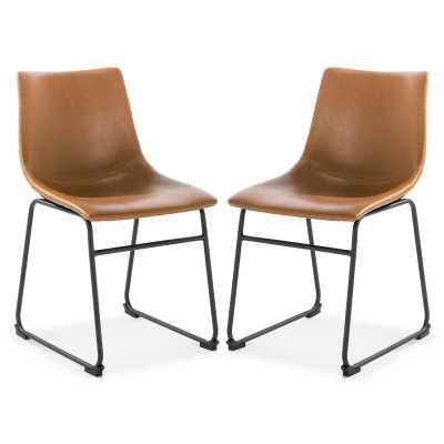 Pedersen Upholstered Side Chair (Set of 2) - Wayfair