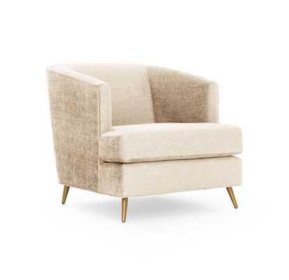 Coco Chair - Cream - Mitchell Gold + Bob Williams