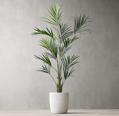 GRAND FAUX KENTIA PALM TREE - RH