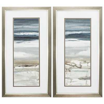 Horizon - 2 Piece Picture Frame Graphic Art Print Set on Paper - Wayfair